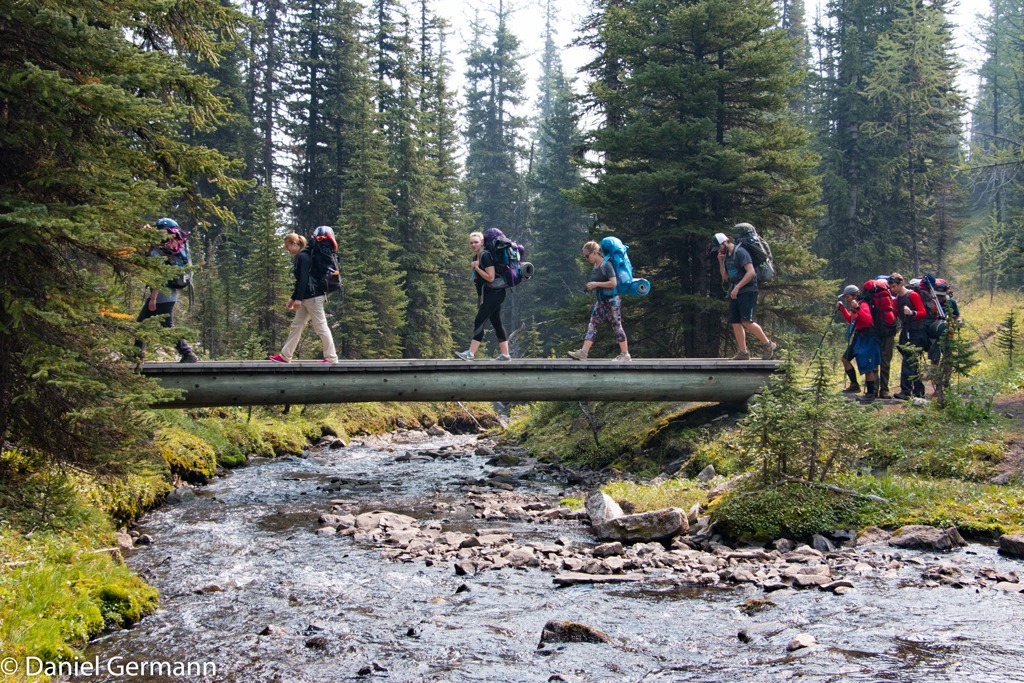 Mountain Venture DTS Hiking in the Rockies