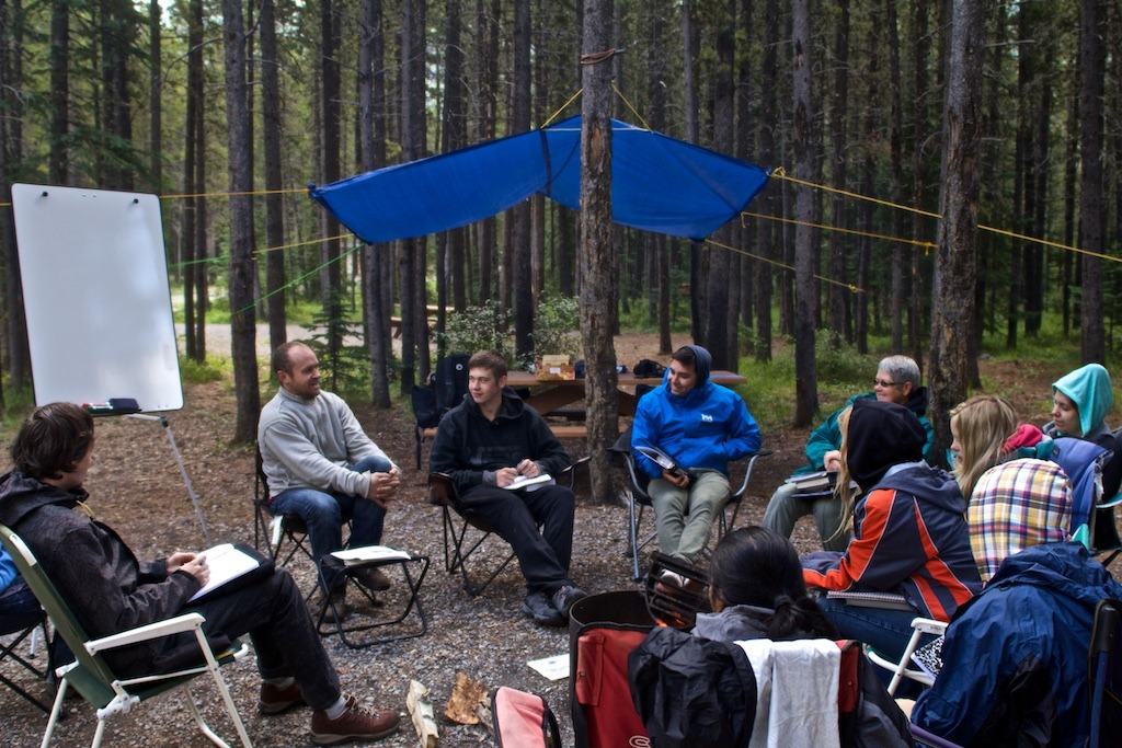 Mountain Venture DTS Camping Week Lecture