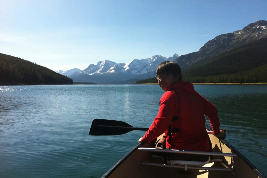 Mountain Venture DTS Canoeing Kananaskis