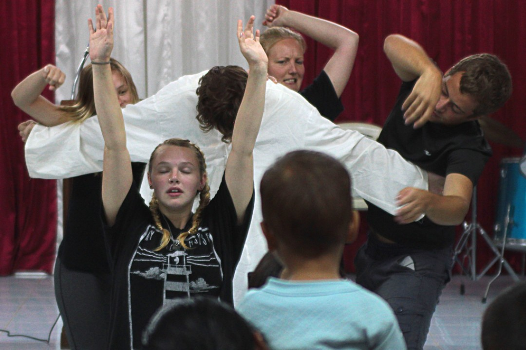 Ministry Skit in Thailand
