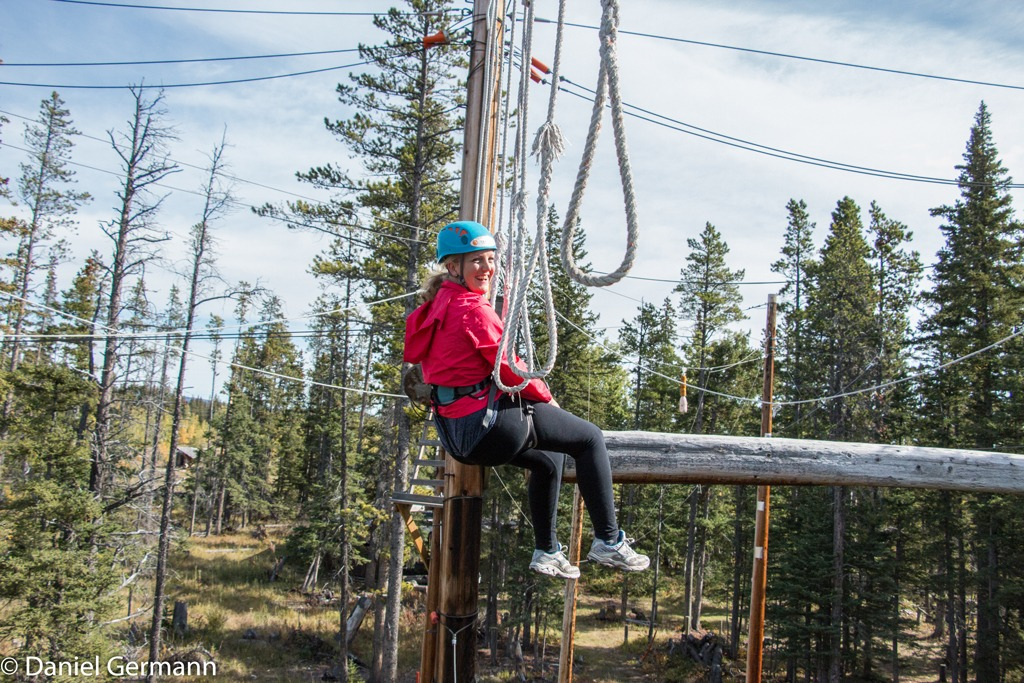 Mountain Venture DTS Ropes Course