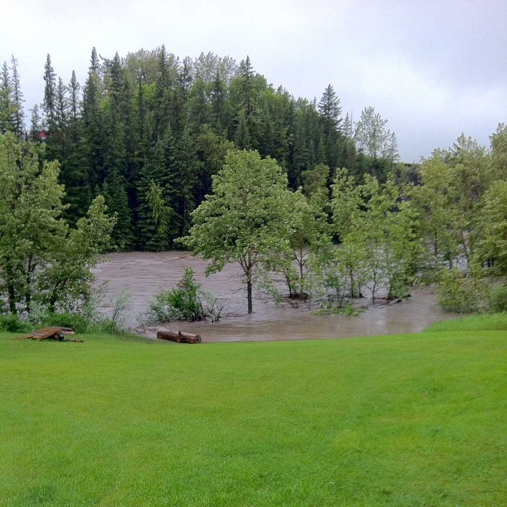 Sheep River Flood of 2013