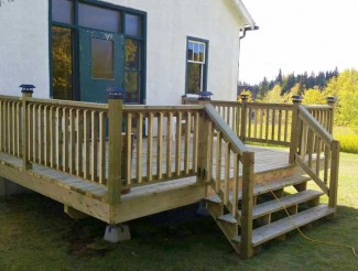 Our new beautiful deck!