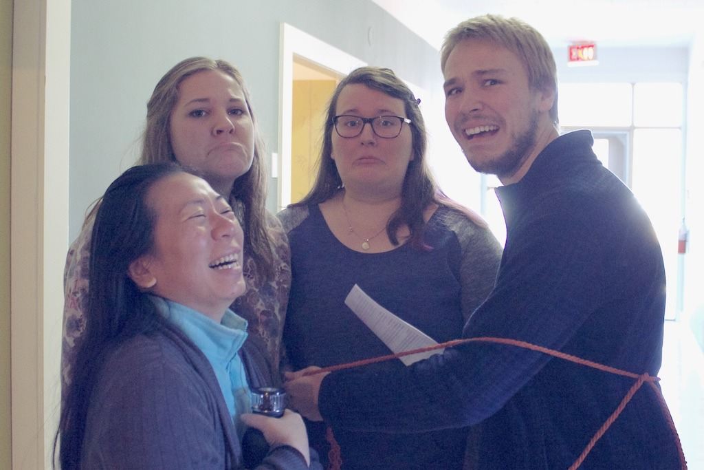 Students captured on their missionary journey