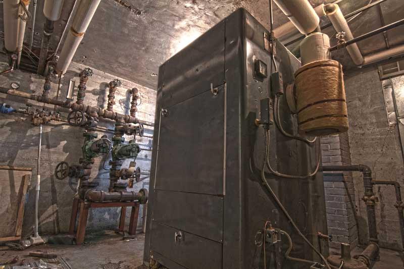 YWAM Turner Valley's Current Boiler