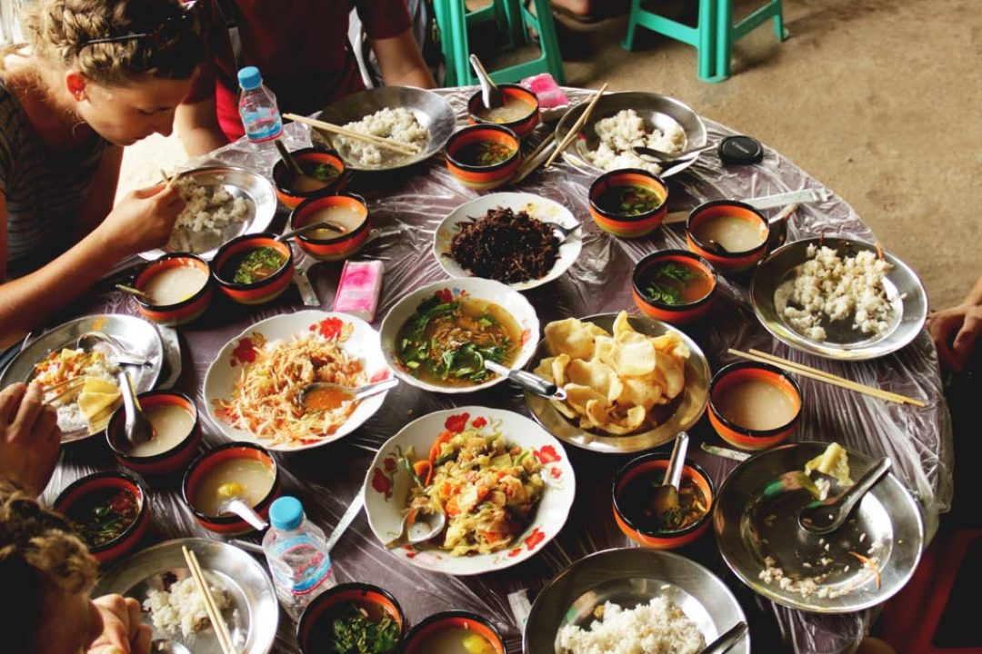 Many dishes and many flavours.