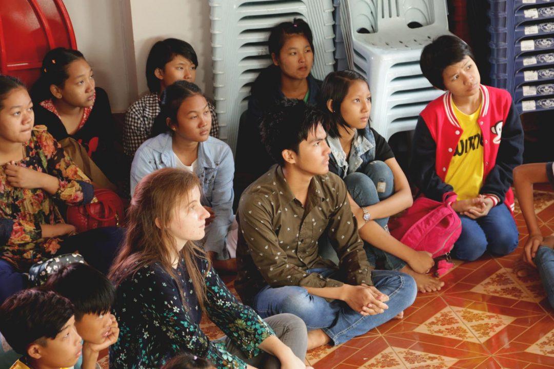 Youth program in SE Asia.